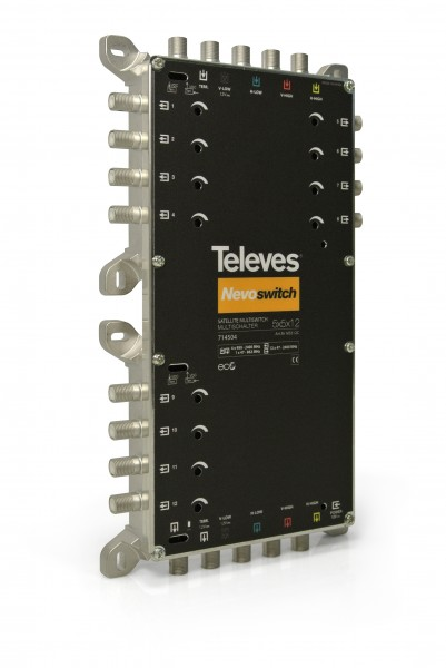 Televes MS512C Multischalter 5 in 12 Guss NEVO