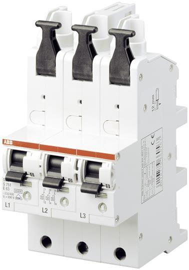 ABB Hauptsicherungsautomat S751/3-E50