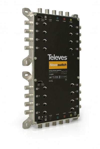 Televes MS516C Multischalter 5 in 16 Guss NEVO