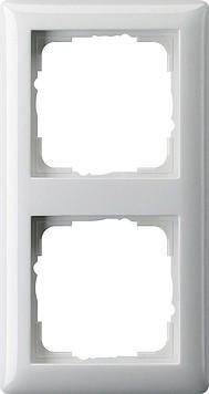 Gira Abdeckrahmen 2fach Standard 55 reinweiss 021203