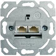 Telegärtner Netzwerkdose 2-Fach, Cat6 AMJ45 J00020A0502