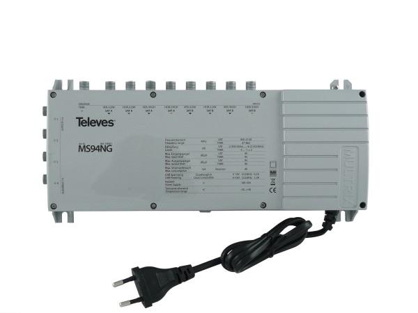 Televes Multischalter mit Netzteil MS94NG