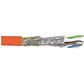 Netzwerkkabel Cat 7 1500MHZ 4x2xAWG22 S/FTP