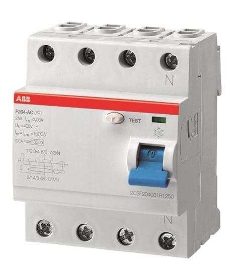 ABB FI-Schutzschalter 40A F204A-40/0,3 pro M Compact