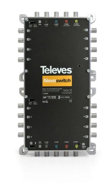 Televes MS516NCQ Multischalter 5 in 16 Guss NEVO