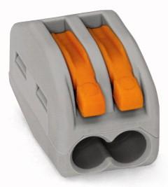 Wago Verbindungsklemme 2x 0,08 - 2,5mm² 222-412