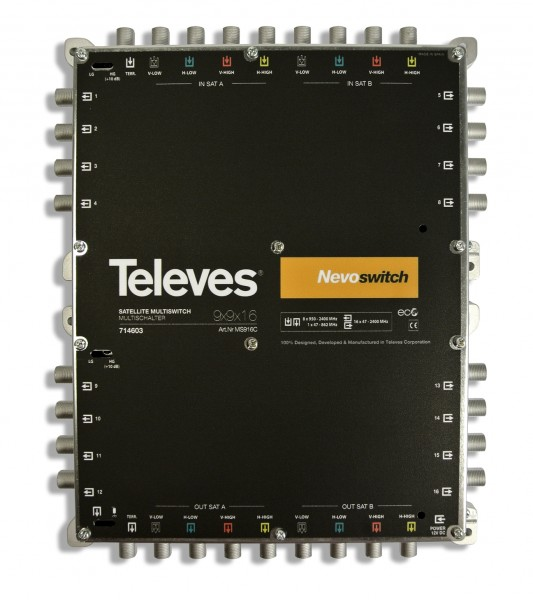 Televes Multischalter 9 in 16 MS916C