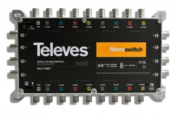 Televes Multischalter 9 in 8 MS98C