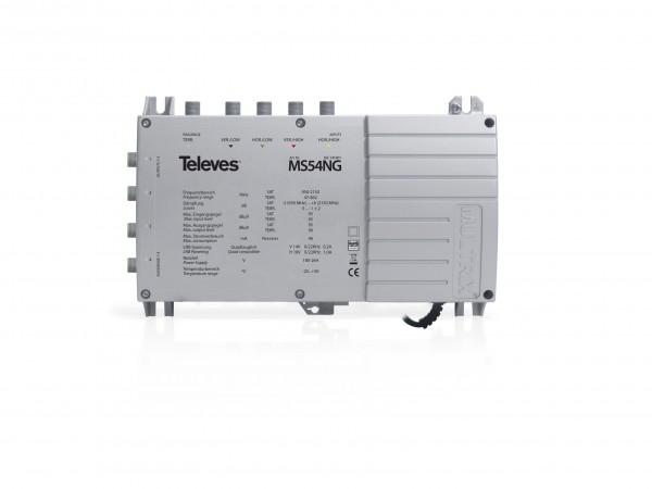 Televes Multischalter mit Netzteil MS54NG