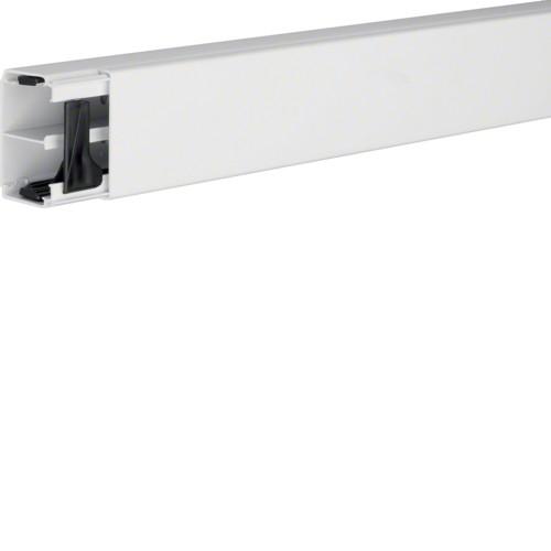 Hager Leitungsfuehrungskanal LF4006109010 reinweiss 40x60mm m. Trennsteg