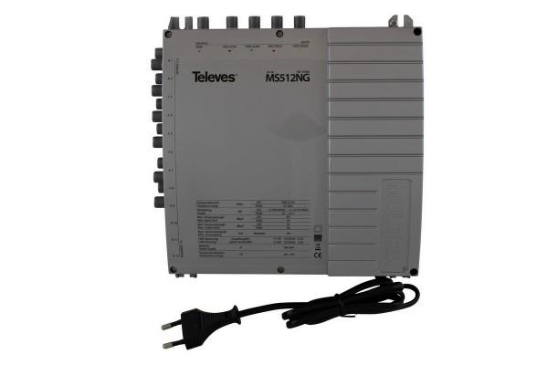 Televes Multischalter mit Netzteil MS512NG