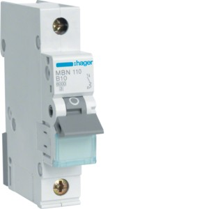 Hager Leitungsschutzschalter MBN110 1polig B10A