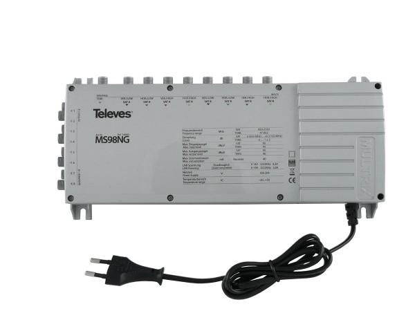 Televes Multischalter mit Netzteil MS98NG