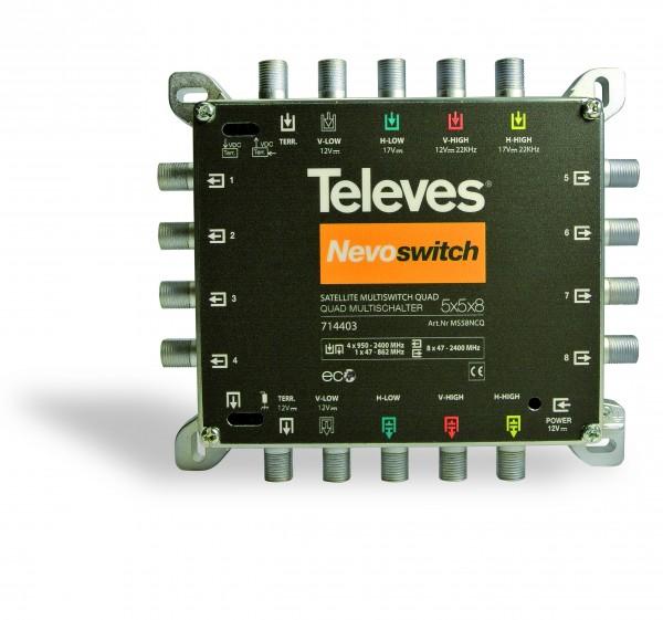 Televes Multischalter 5 in 8 MS58NCQ