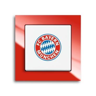 Busch-Jaeger Bayern München Fanschalter 2000/6 UJ/03