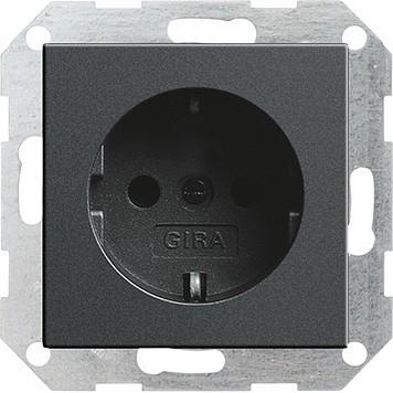 Gira 018828 Steckdose System 55 anthrazit