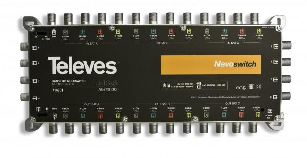 Televes MS138C Multischalter 13 in 8 Guss NEVO