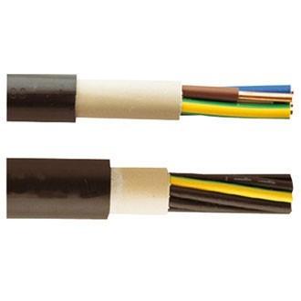 NYY-J 5x6 mm² Starkstrom Erdkabel 50m Ring