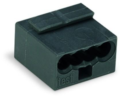 Wago Micro Klemme 4x0,6-0.8qmm² 243-204