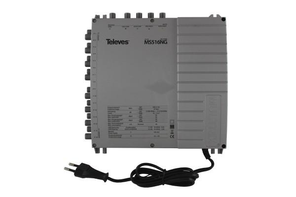 Televes Multischalter mit Netzteil MS516NG